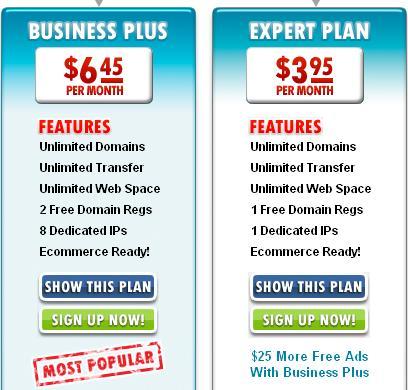 ixwebhosting business plus price