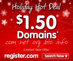 register.com域名优惠