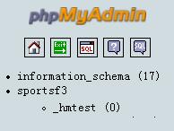 hostmonster phpmyadmin