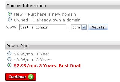 Webhostingpad主机购买指南